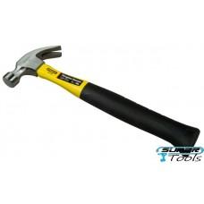 """Молоток """"Stanley® Yellow Fibreglass Curve Claw"""" с загнутым гвоздодером 1-51-112"""