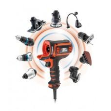 Многофункциональный инструмент с насадкой дрель-шуруповерт Black&Decker MT350K