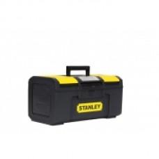 """Ящик для инструмента """"Basic Toolbox"""" пластмассовый, 486 x 266 x 236 мм (19""""), Ручка увеличенной ширины с мягкой накладкой. 1-79-217"""