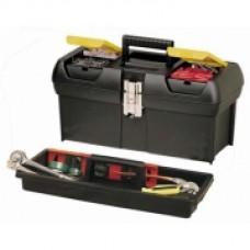 """Ящик для инструмента """"2000"""",318x178x130, с металическими замками, с 2-мя встроенными органайзерами и лотком. 1-92-064"""