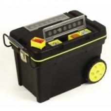 """Ящик большого объема с колесами """"Pro Mobile Tool Chest"""" 610х375х420 мм, пластмассовый 1-92-904"""