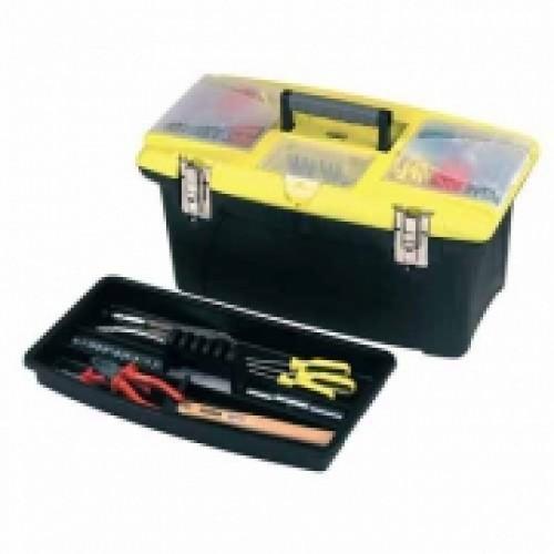 "Ящик для инструмента ""Jumbo"", 19"" (486х276х237 мм), пластмассовый 1-92-906"