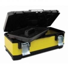 """Ящик для инструмента профессиональный , 26"""" (662x293x222мм), металлопластмассовый с металлическими замками 1-95-614"""