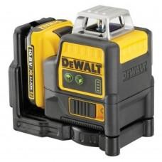 Лазер самовыравнивающийся 2-х плоскосной DeWALT DCE0811D1G